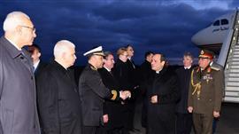 الرئيس السيسي يصل إلى ألمانيا للمشاركة