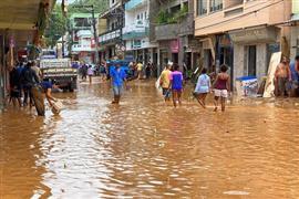 السيول تغرق ولاية إسبيريتو سانتو في البرازيل