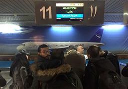 افتتاح مطار حلب بعد توقف 8 سنوات