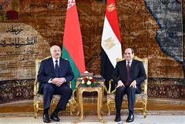 الرئيس السيسي يستقبل نظيره البيلاروسي