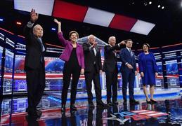 مناظرة المرشحين الديمقراطيين للانتخابات