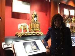 وزيرة الهجرة تزور أول متحف عالمي للساعات