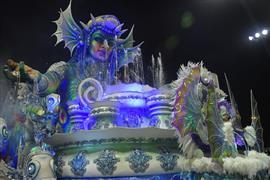 كرنفال ساو باولو في البرازيل