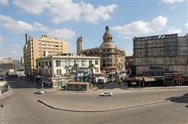 شوارع القاهرة خالية في أول أيام عيد الفط...