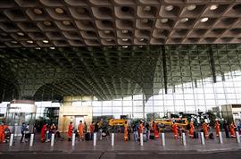 إجراءات مكافحة فيروس كورونا في مطارات الهند