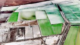 لقطات جوية تظهر شمال الصين على شكل «لوحات