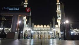 المسجد النبوي يفتح أبوابه لاستقبال المصلين