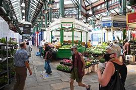 فتح الأسواق بإنجلترا بعد تخفيف قيود الإغلاق