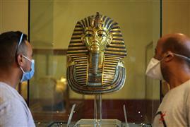 المتحف المصري بالتحرير يستقبل زواره