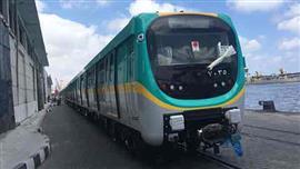 وصول ثاني قطارات صفقة تصنيع وتوريد 32
