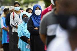 الانتخابات البرلمانية في كولومبو بسريلانكا