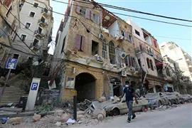 دمار بيروت بعد الانفجار الضخم بالعاصمة