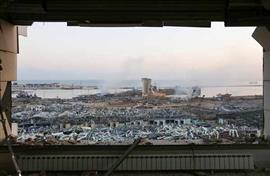 أعقاب انفجار بيروت