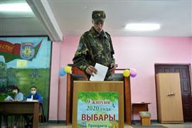 بدء الانتخابات الرئاسية في بيلاروسيا