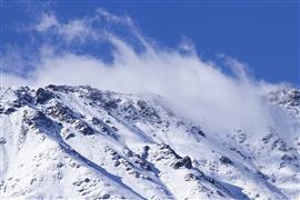 جمال الطبيعة بعد تساقط الثلوج في هامي