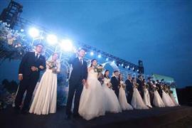 زفاف جماعي في الصين رغم فيروس كورونا