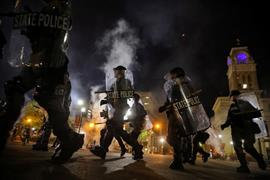 ارتفاع وتيرة المظاهرات في الولايات المتحدة