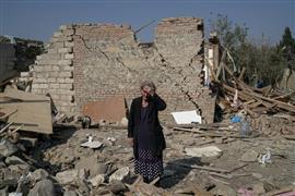 لقطات من الصراع الأرميني الأذربيجاني