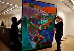 لوحة للفنان ديفيد هوكني ستباع بقيمة 35 م...