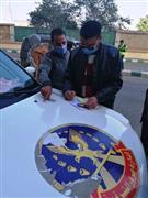 تغريم 48 سائقا لعدم الإلتزام بارتداء