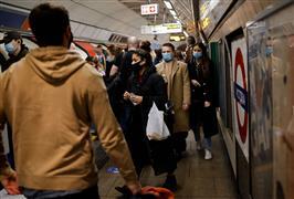إجراءات وقائية بمترو لندن بعد تفشي وباء