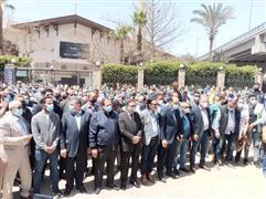 تشييع جنازة الكاتب الكبير مكرم محمد أحمد