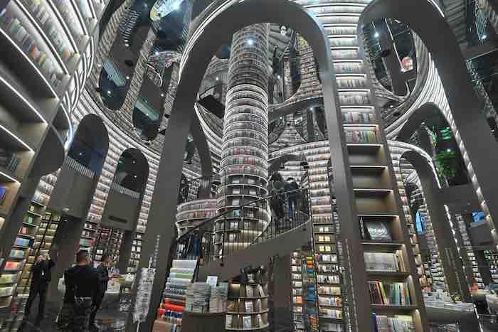 أجمل محل لبيع الكتب في مدينة تشنغدو الصينية