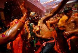 مهرجان الألوان في الهند