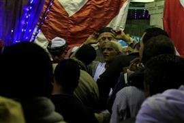 احتفال صوفي بالليلة الختامية لمولد السيدة نفسية (تصوير: شيماء عبد الرحيم)