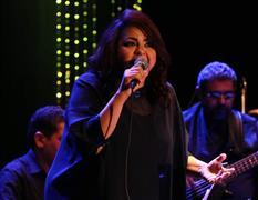 حنان ماضي تبدع على المسرح الصغير بدار الأوبرا المصرية (تصوير: شيماء عبد الرحيم)