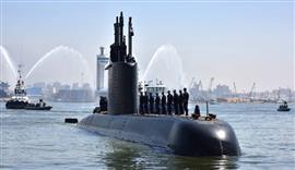 وصول الغواصة S41 تايب لميناء رأس التين بالإسكندرية وانضمامها للقوات البحرية