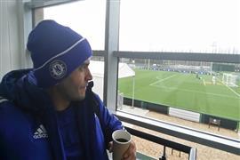 مصطفى محمود المدير الفني لنادي إنفيلد.. أول مدرب مصري في عالم الكرة الإنجليزية