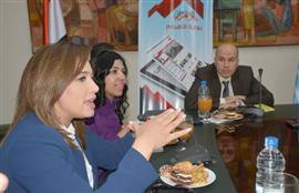 ندوة الإعلاميين فى ضيافة بوابة الأهرام