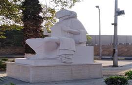 وزارة الثقافة تعيد تمثال الفلاحة إلي شكله الأصلي