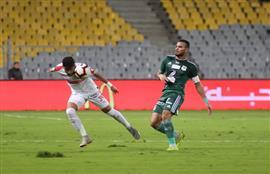 ملخص مباراة الزمالك و المصري الشوط الأول