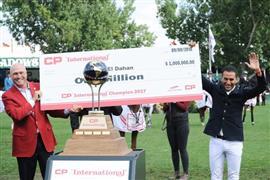 الفارس المصري سامح الدهان يفوز بالبطولة الدولية لتخطي الحواجز في كندا