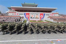 كوريا الشمالية تحتفل بمرور 70 عاما على تأسيسها