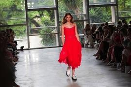 أسبوع الموضة في ساو باولو بالبرازيل