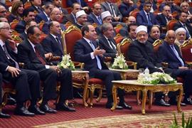 الرئيس السيسي يشهد احتفال وزارة الأوقاف بذكرى المولد النبوي الشريف