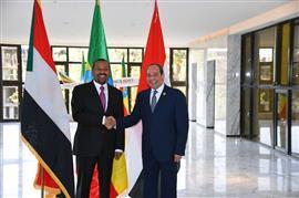 نشاط الرئيس السيسي في القمة الأفريقية بأديس أبابا