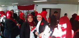 الجالية المصرية في مدينة ميلانو الإيطالية تشارك في الاستفتاء على تعديل الدستور