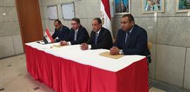 تصويت المصريين في العاصمة الألمانية برلين للاستفتاء على تعديل الدستور