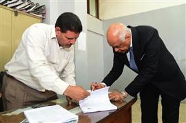 الدكتور علي عبد العال رئيس مجلس النواب يشارك في الاستفتاء على التعديلات الدستورية