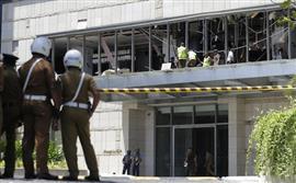 سلسلة من الانفجارات في سيريلانكا في محيط فنادق وكنائس ليلة عيد الفصح