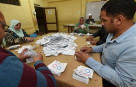 بدء عمليات الفرز في الاستفتاء على التعديلات الدستورية