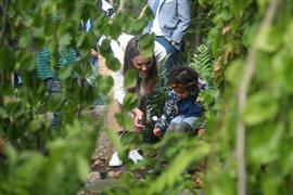 كيت ميدلتون دوقة كامبريدج تزور حديقتها الجديدة بمعرض تشيلسي للزهور في بريطانيا