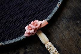 مروحة الجولة أحد الحرف اليدوية التاريخية التقليدية فى الصين