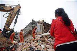 قتلى وجرحى في زلزال قوي يضرب الصين