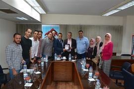 ندوة رئيس لجنة الحكام الجديد سمير محمود عثمان في بوابة الأهرام