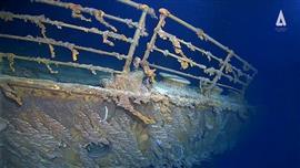 أول صور عالة الجودة لحطام السفينة تيتانيك في المحيط الأطلنطي تحت عمق 13 ألف قدم